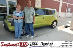 Congratulations Ronnie on your #Kia #Soul from Mauricio Pena at Southwest KIA Rockwall! #NewCar