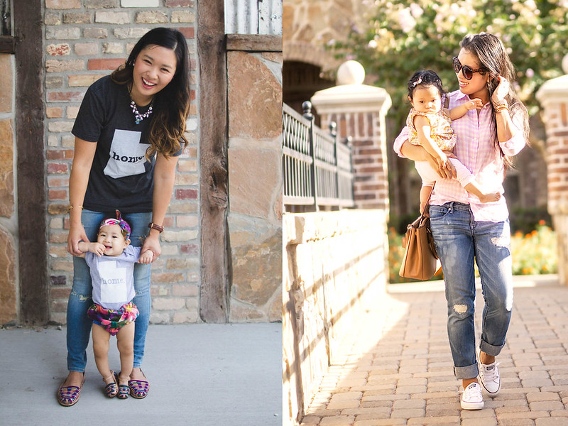 cute & little blog | on trend tuesdays linkup | mommy + me outfit