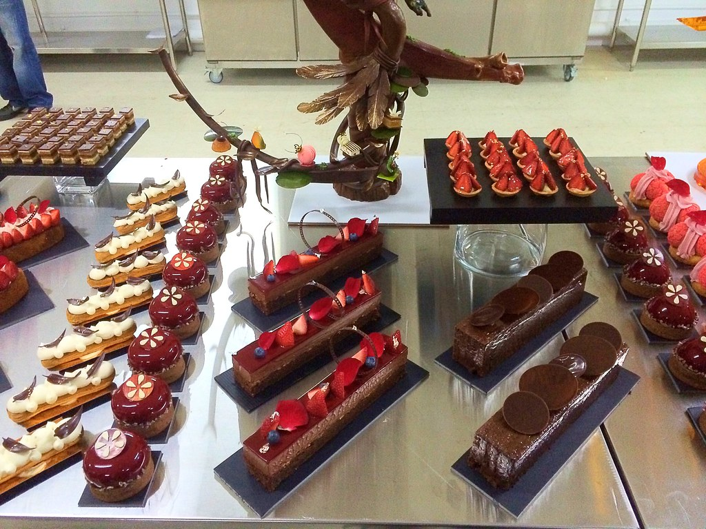 Heavenly chocolate desserts buffet spread
