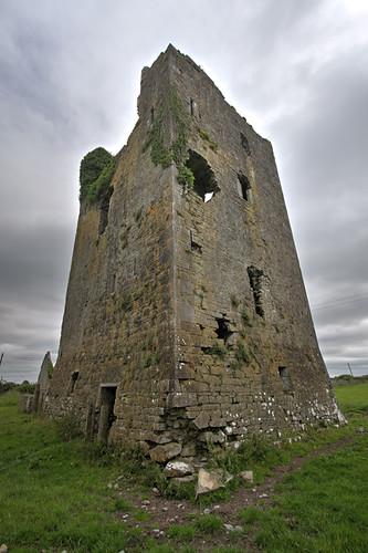 Ballybeg Castle on corner