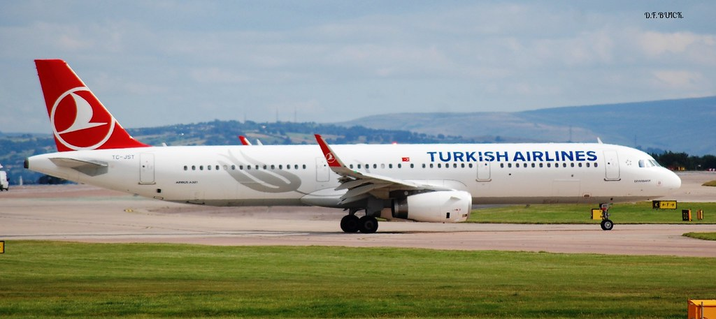 TC-JST - A321 - Turkish Airlines