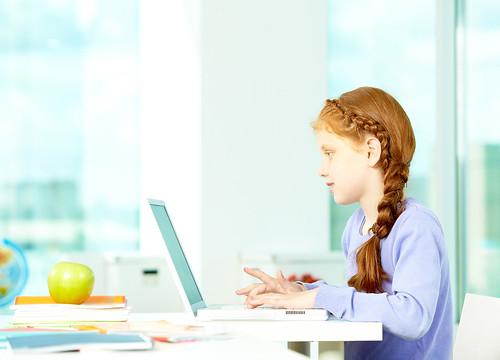 Typing pupil