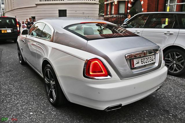 Rolls-Royce Wraith - 602034 - Qatar