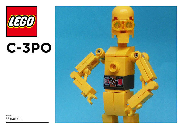 LEGO: C-3PO Instructions