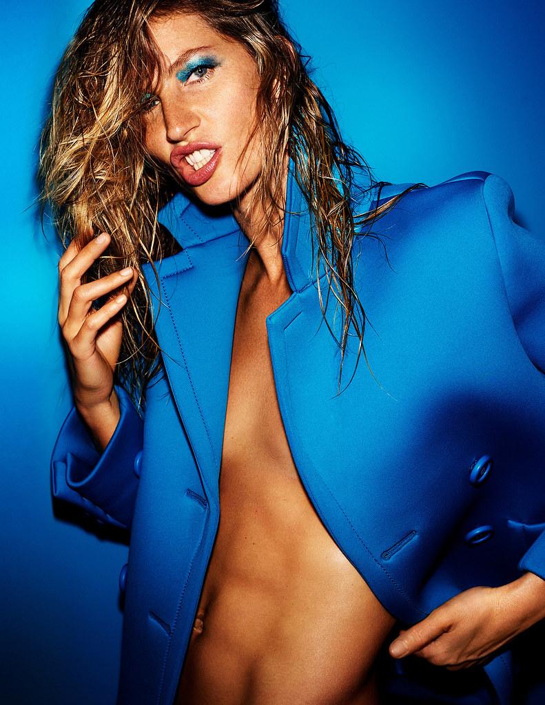 Жизель Бюндхен — Фотосессия для «Vogue» FR 2015 – 13