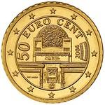 2015 Austria 50 Euro cent coin