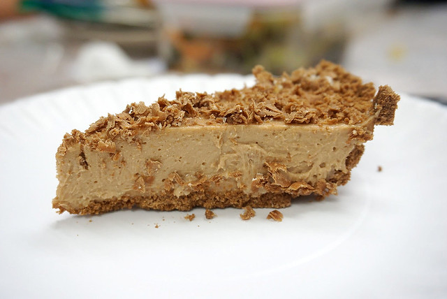 Toblerone Eggless Cheesecake