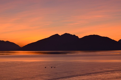 Our last Ballachulish sunset