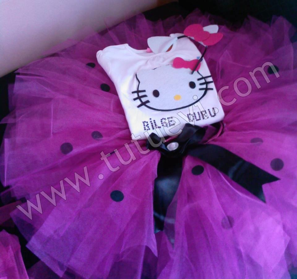 Prenses Bilge Duru'nun tütü takımı hazır, mutlu günlerde giymesini diliyoruz.