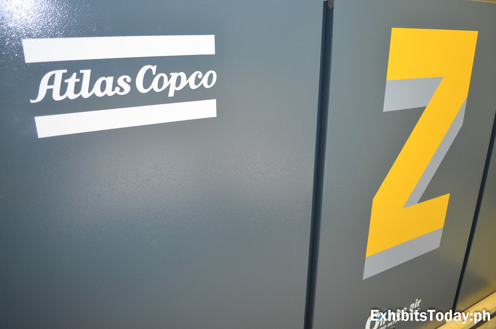 Cover of Atlas Copco Gas Compressor