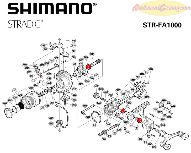 Schema Stradic 1000FA