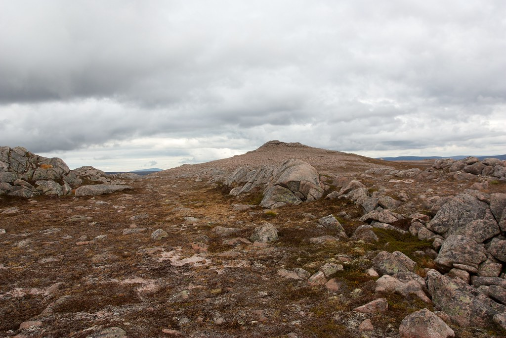 Summit of Creag Mhor