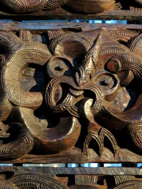 Elements of Māori carving