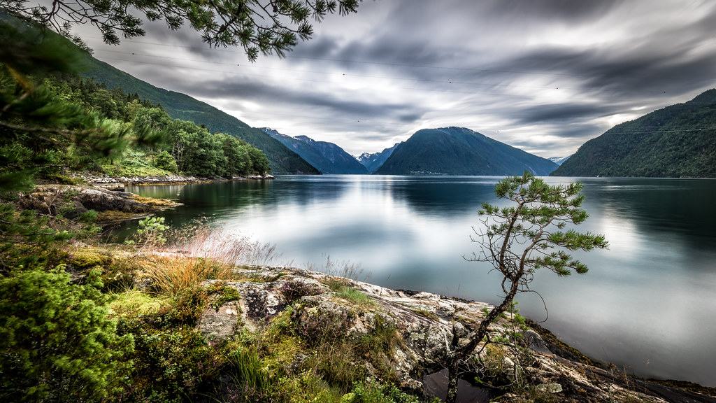 Sognefjord, Dragsviki, Norway picture