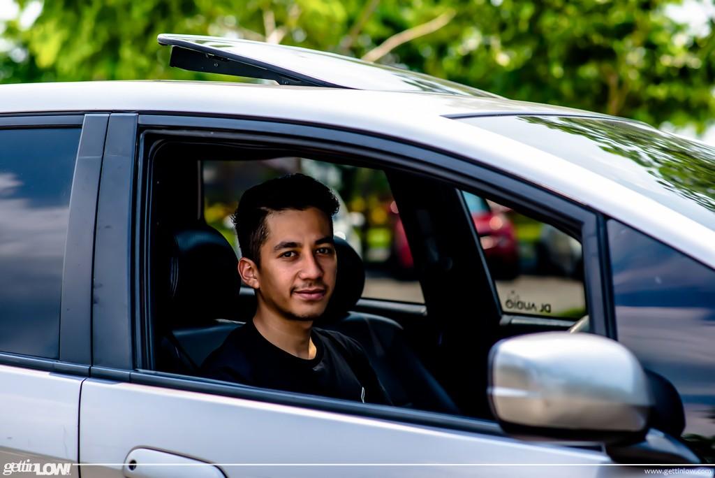 Hedar Alaydrus Honda Jazz