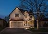 Twilight Shot Toronto Luxury Home