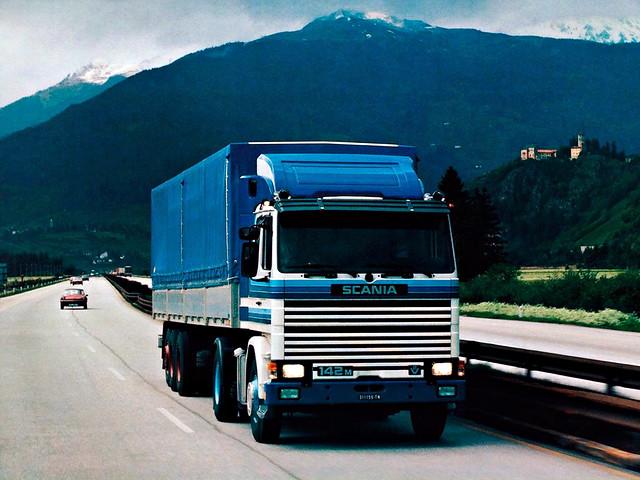 Седельный тягач Scania 142M 4x2. 1981 – 1988 годы