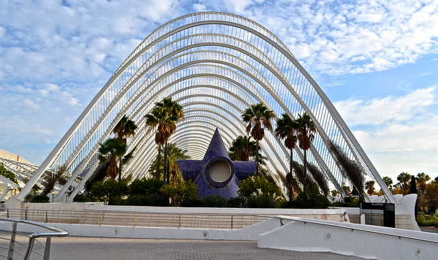 gardens - City of Arts and Sciences, Valencia Spain
