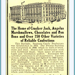 Tue, 2015-11-24 08:51 - 1912 Early Cracker Jack  Adv.Rueckheim Bros. & Eckstein -Cracker Jack and Candy Makers Chicago and Brooklyn