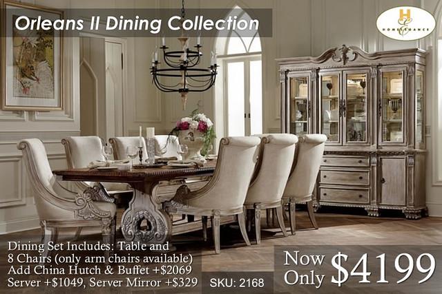 Orleans II Dining Set