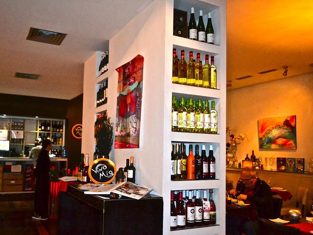 dining - restaurante vino mio, malaga spain