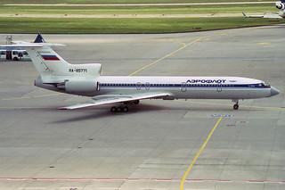 Aeroflot Tupolev Tu-154M RA-85771