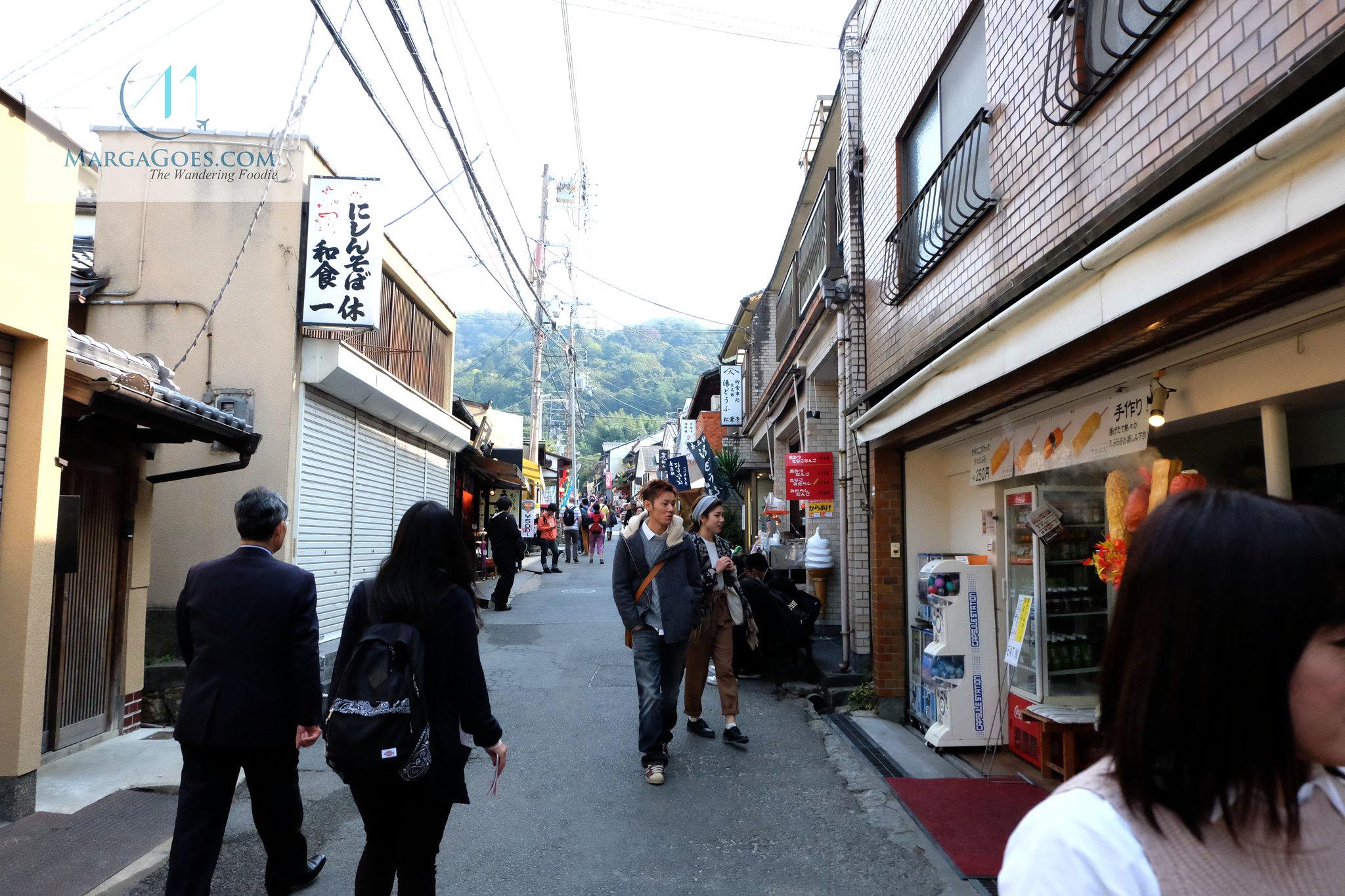 Stores in ginkakuji