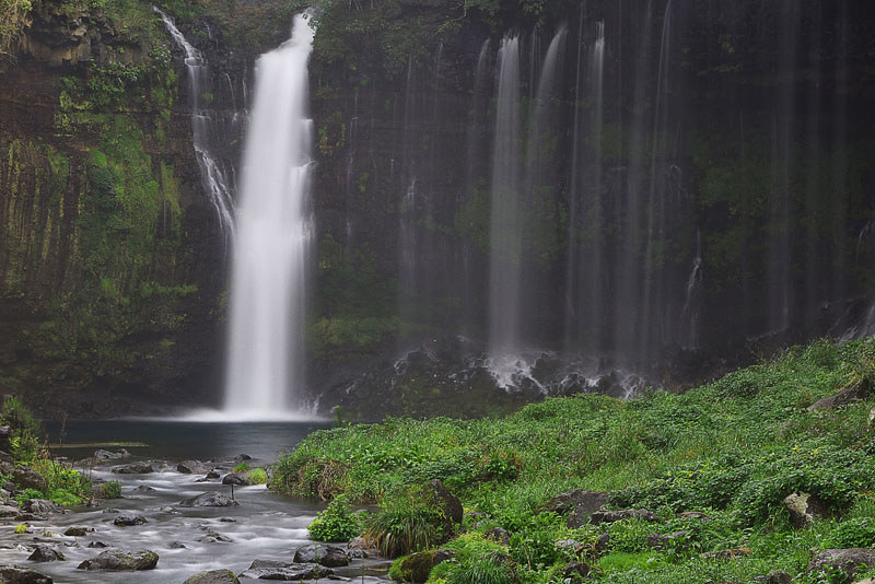 富士宮 白糸の滝の写真