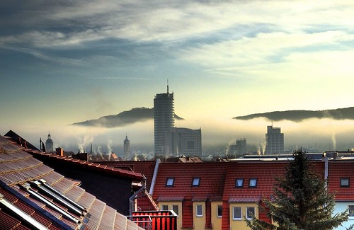 Über den Dächern von Jena