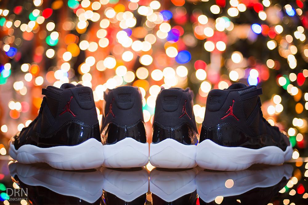 """Air Jordan XI """"72-10""""."""
