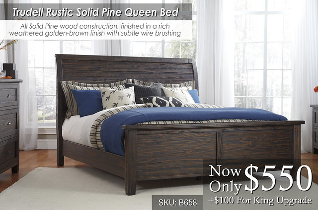 Trudell B568 Queen Bed