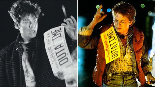 Back to the Future - Eric Stoltz vs Michael J. Fox