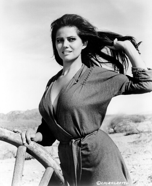 The Professionals - Promo Photo 2 - Claudia Cardinale
