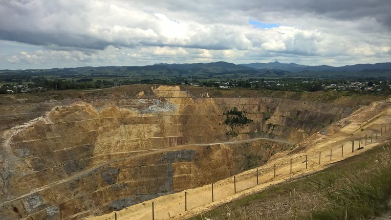 Waihi Martha Gold Mine