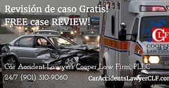 Revisión de caso Gratis!  FREE case REVIEW! Car Accident Lawyers CLF,PLLC 24/7 (901) 310-9060 buff.ly/2dI0r02