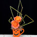 Halloween Flowers - — Photo Courtesy The Rittners School of Floral Design, Boston