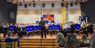 Patrik Randefalk och Åsenhöga Brass Band