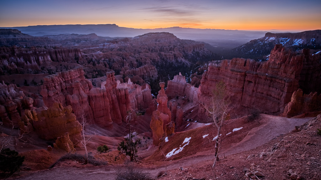 Bryce Canyon at sunrise, Utah, United States picture