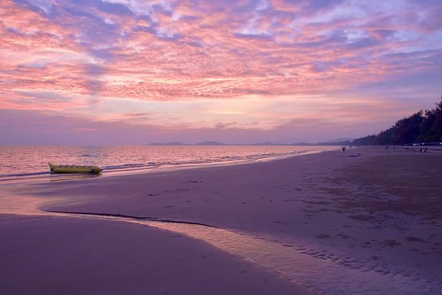 Thai beach scene