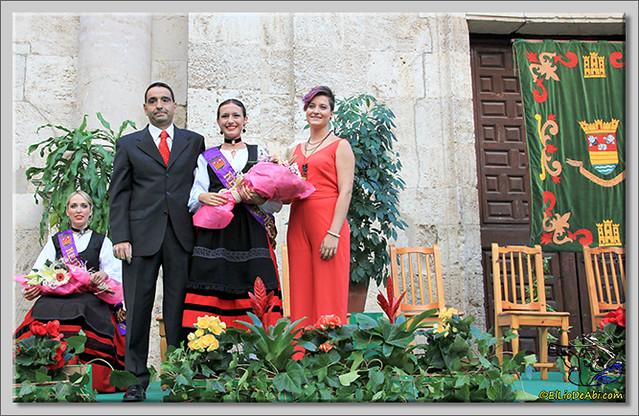 Briviesca en Fiestas 2.015 Proclamación de las Reinas y lectura del Pregón (14)