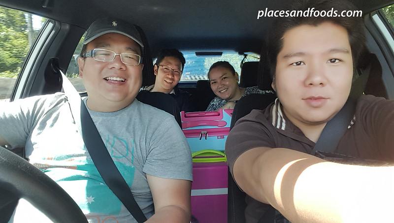 thai rent a car group wefie