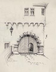 Blankenburg, Tor zum Großen Schloss / Castle Gate