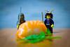 Lego Samurai Sushi