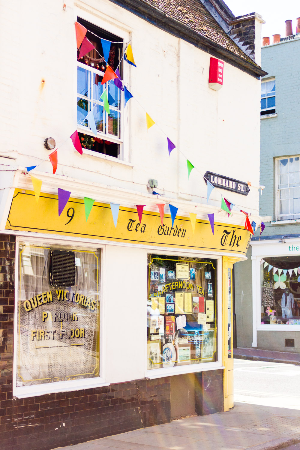 margate yellow cute old shop
