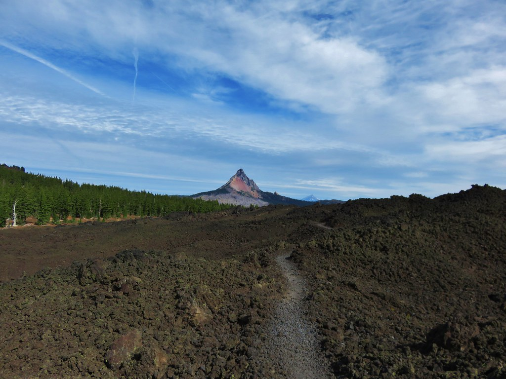 Mt. Washington and Mt. Jefferson from the Pacific Crest Trail