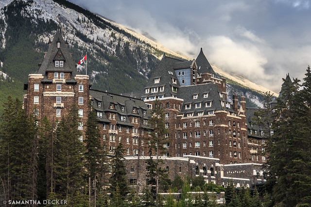 Fairmont Banff Springs Among the Canadian Rockies