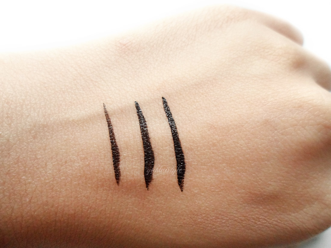 Kat Von D Tattoo Liner review and swatch