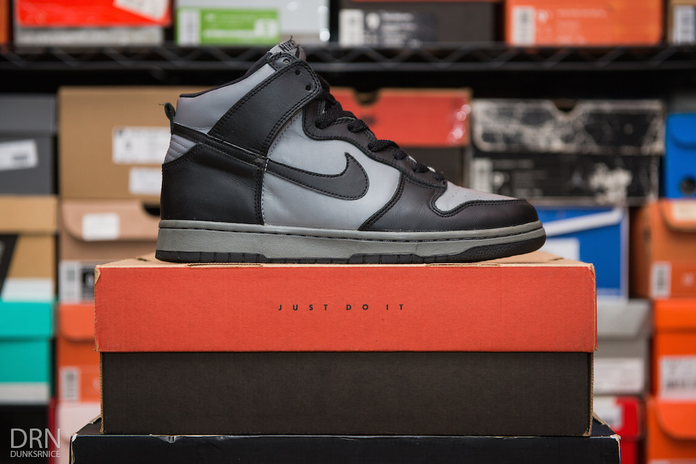 Black & Grey Dunk Highs.