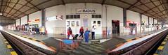 Stasiun Madiun #Panorama #Stasiun #KeretaApi #Madiun #Indonesia #Samsung
