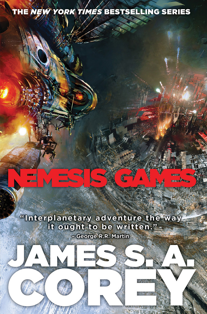 'Nemesis Games' by James S.A. Corey (reviewed by Skuldren)